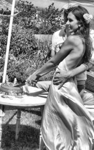 casual beach bride